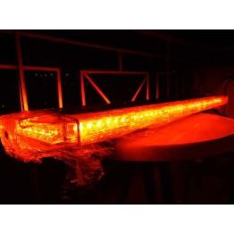 105cm Κόκκινος Φάρος Μπάρα Οροφής 12V Strobe 84 Led