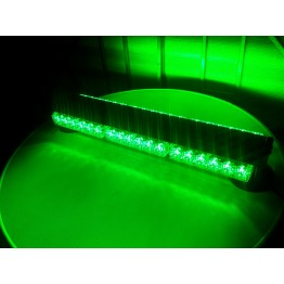 108w Διπλή μαγνητική πράσινη μπάρα - φάρος LED Strobe Security
