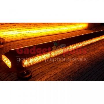 111cm Πορτοκαλί μαγνητική διπλή μπάρα φάρος 90 LED 270w 12v