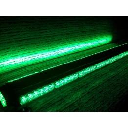 126cm Πράσινη μαγνητική διπλή μπάρα φάρος 102 LED 306w 12v (Security)