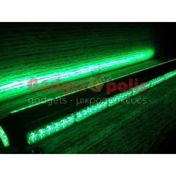 111cm Πράσινη μαγνητική διπλή μπάρα φάρος 90 LED 270w 12v