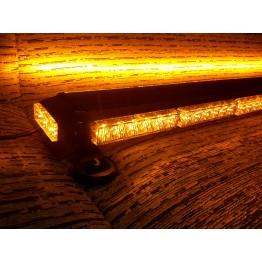 126cm Πορτοκαλί μαγνητική διπλή μπάρα φάρος 102 LED 306w 12v
