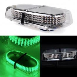 Μαγνητικός πράσινος φάρος 12V Strobe Light Bar 240 Led