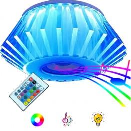 Λάμπα E27 Led 24W RGB με Ενσωματωμένο Ηχείο Bluetooth 5W