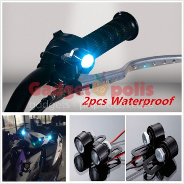 2x3 waterproof Led φωτάκια ασφαλείας 120Lm μοτοσυκλέτας 12V