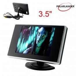 3,5 ιντσών TFT LCD Ψηφιακή οθόνη αυτοκινήτου 12V