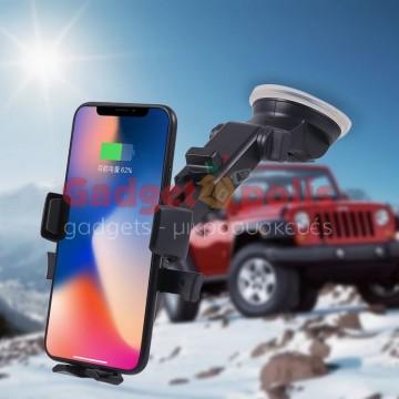 360 ° Περιστρεφόμενη επεκτεινόμενη βάση κινητού αυτοκινήτου