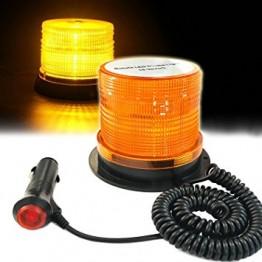 Μαγνητικός Φάρος οροφής 36W 72 Led πορτοκαλί strobe 12/24V