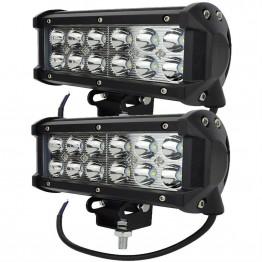 LED bar προβολείς offroad 36W (2 Τμχ)