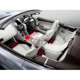 Led φωτισμού ατμόσφαιρας αυτοκινήτου με remote control music