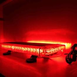 Μαγνητικός κόκκινος Φάρος 55cm 12V Strobe 48w