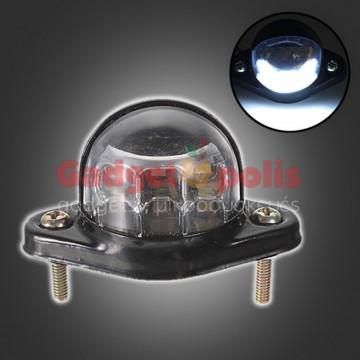 Φως με 6 LED πινακίδας 12/24V οχημάτων