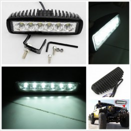 LED προβολείς moto-ieep-offroad 18W (2 ΤΕΜ)
