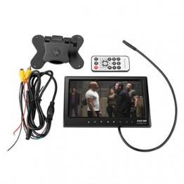 """Οθόνη μόνιτορ 7"""" 12/24V Full HD & κάμερα CCD 18 LED για Φορτηγό, Λεωφορείο"""
