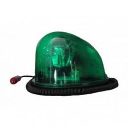 Μαγνητικός πράσινος φάρος οβάλ 80 LED Security