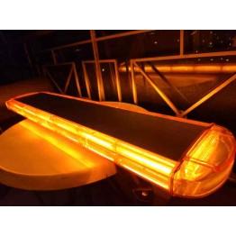 98cm Πορτοκαλί Φάρος Οροφής 252w Strobe 14 COB Led 12v