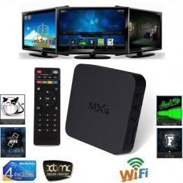 TV Box MXQ OTT Android 4.4 Quad Core WiFi Kodi 1080P 8GB XBMC