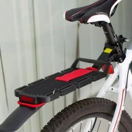 Σχάρα για λαιμό ποδηλάτου αλουμινίου με φτερό και ρεφλέξ