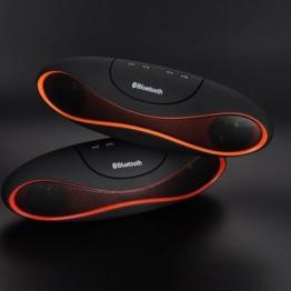 Bluetooth ηχείο Mp3 με υποδοχή USB-TF Μαύρο
