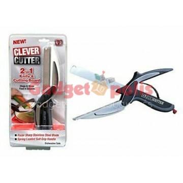 Ψαλίδι κουζίνας μαχαίρι κοπής Cutter 2-IN-1 Smart Cutter