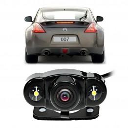 Κάμερα 170° HD οπισθοπορείας με 2 Led Night Vision wireless kit