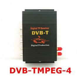 Ψηφιακός δέκτης τηλεόρασης αυτοκινήτου DVB-T MPEG4 HD