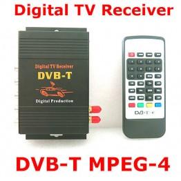 Ψηφιακός δέκτης τηλεόρασης με HDMI - USB αυτοκινήτου DVB-T MPEG4 HD
