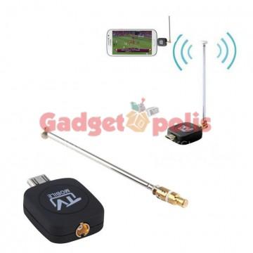 Μίνι ψηφιακός δέκτης τηλεόρασης HD DVB-T για Android Smartphone-Tablet
