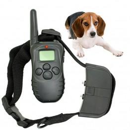 Ασύρματο Κολάρο Εκπαίδευσης Σκύλου με LCD Οθόνη + Δόνηση