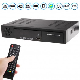 Ψηφιακός δέκτης MPEG4 Full HD 1080p usb Media Player Hdmi T2 Coaxial H.264