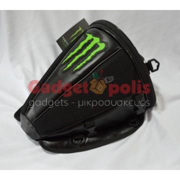 Τσαντάκι Monster Logo πίσω καθίσματος μοτοσυκλέτας