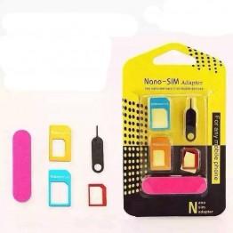Αντάπτορες nano sim καρτών για κινητά τηλέφωνα