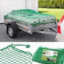 Ισχυρό ελαστικό πράσινο δίχτυ ρυμουλκούμενου τρέιλερ