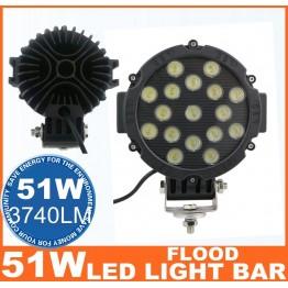 Προβολέας LED 51w μεγάλος βαρέως τύπου
