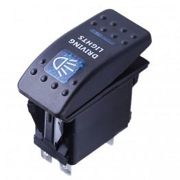 Διακόπτης On-Off 5 pin αδιάβροχος 12V / 20A, 24V / 10A