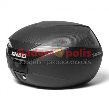 Shad SH39 Carbon 39lt Βαλίτσα, Μπαγκαζιέρα Μοτοσυκλέτας