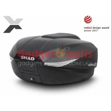 Shad SH58X Expandable Βαλίτσα, Μπαγκαζιέρα Μοτοσυκλέτας