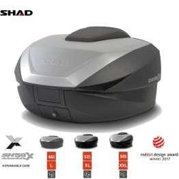 Shad SH59X Expandable Βαλίτσα, Μπαγκαζιέρα Μοτοσυκλέτας