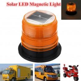 Ηλιακός μαγνητικός πορτοκαλί φάρος Led