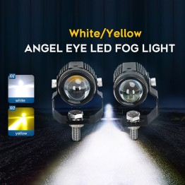 Προβολείς Work Fog Light 30W 12V/24V Dual Color High Beam