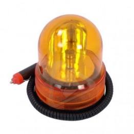 Μαγνητικός περιστρεφόμενος φάρος (Πορτοκαλί) 12V