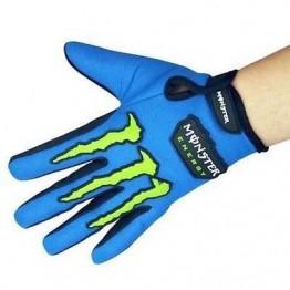 Γάντια ποδηλάτου monster energy logo