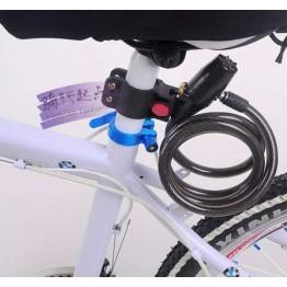 Κλειδαριά με συναγερμό και βάση 90db ποδηλάτου
