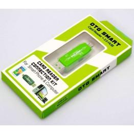 Προσαρμογέας OTG Micro USB σε SD-USB για smartphone