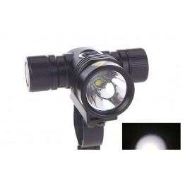 Φακός ποδηλάτου Led 2000 lumens+2 μπαταρίες(Li-ion)