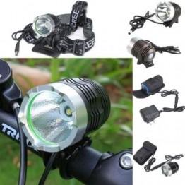 Φακός ποδηλάτου - outdoor Led 2200 Lm + μπαταρία Li-ion 6400mAh