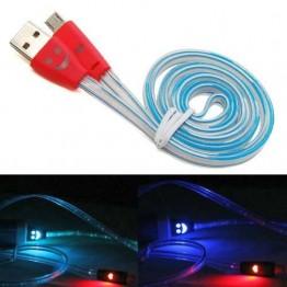 Καλώδιο micro-USB με LED φωτισμό