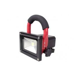 Επαναφορτιζόμενος Φορητός Προβολέας LED 10W