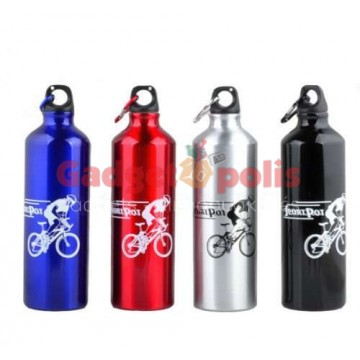 Μπουκάλι αλουμινίου 750ml για Ποδηλασία - Πεζοπορεία