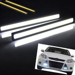 Led φώτα ημέρας 6w με αυτοκόλλητα 3M